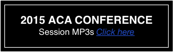 ACA 2015 National Conference MP3s